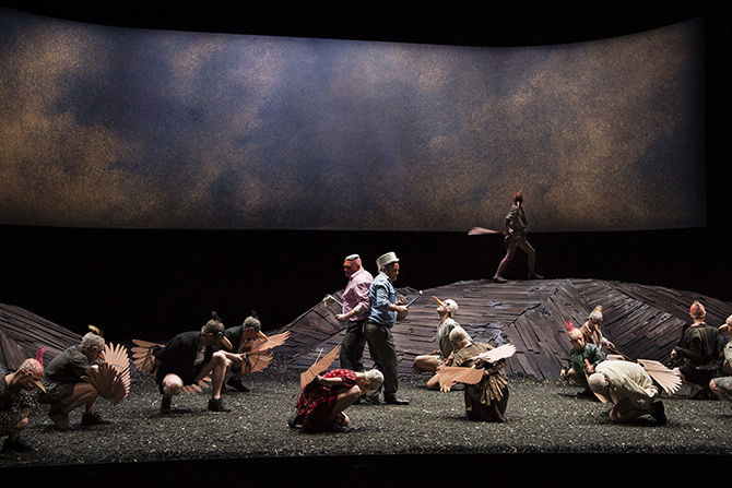 Les Oiseaux - Critique sortie Théâtre Toulouse Théâtre national de Toulouse