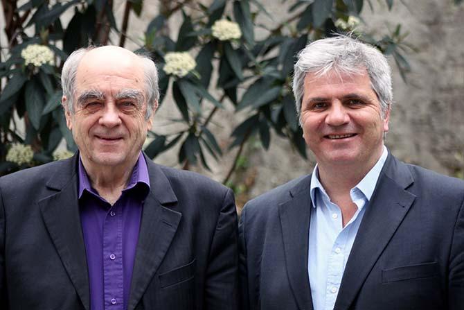 François Nowak et Guillaume Damerval © D. R.