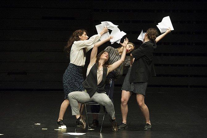 Chantiers d'Europe - Critique sortie Théâtre Paris Théâtre de la Ville - Espace Cardin