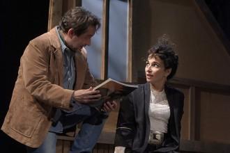 Elisabeth Bouchaud et Jean-Benoît Terral dans Puzzle.  Crédit photo: Pascal Gély