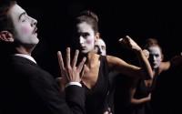 Crédit : Manuel Vidal Légende : La Cantatrice chauve, dans une mise en scène de Judith Andrès.