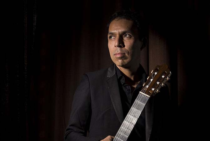 Jorge Caballero, immense guitariste, participe à la première édition d'un nouveau festival consacré à l'instrument. DR