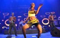 © Isabelle van Oost  Basokin, un groupe venu de Kinshasa, programmé dans le cadre du Festival d'Avignon.
