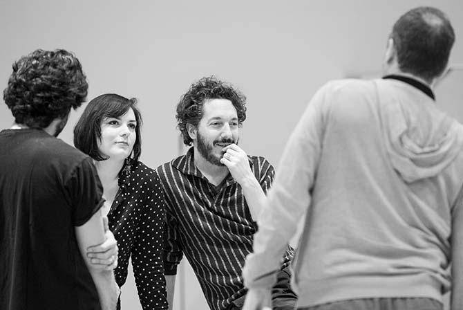 Guillaume Gallienne pendant les répétitions de La Cenerentola. © Elena Bauer