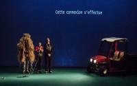 Mathilde Maillard, Arnaud Boulogne et Sébastien Vial, ici et là… Crédit photo: Simon Gosselin