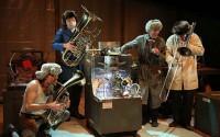 Le collectif trentenaire de l'Odyssée jouera son délirant spectacle Les Frères Choum. (crédit : DR)