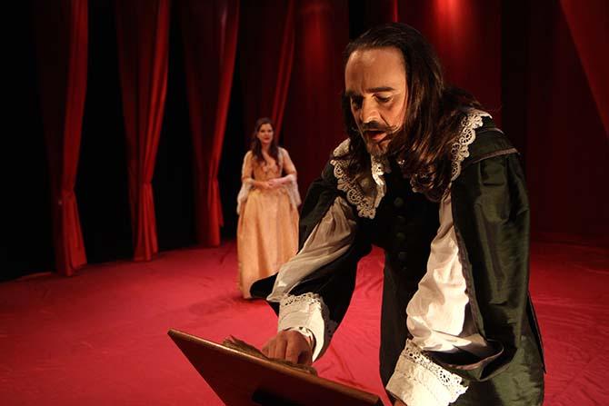 Ombres sur Molière - Critique sortie Avignon / 2017 Avignon Avignon Off. Théâtre du Chêne Noir