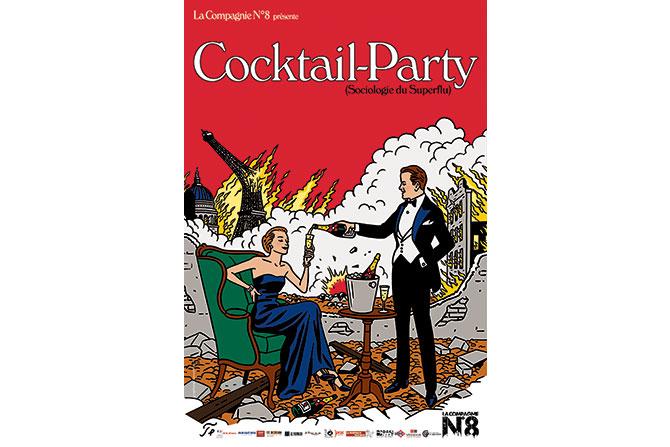 Cocktail Party - Critique sortie Avignon / 2017 Avignon Avignon Off. Théâtre de l'Oulle