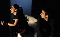 Crédit visuel : Aurélien Serre Légende : Elise Hobbé et Mathieu Béguier dans Entre eux deux.