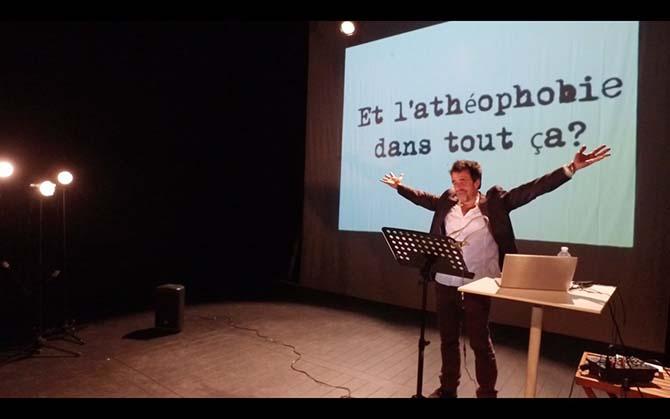 Lettre aux escrocs de l'Islamophobie qui font le jeu des racistes - Critique sortie Avignon / 2017 Avignon Avignon Off. Théâtre de l'Oulle. Rue Plaisance