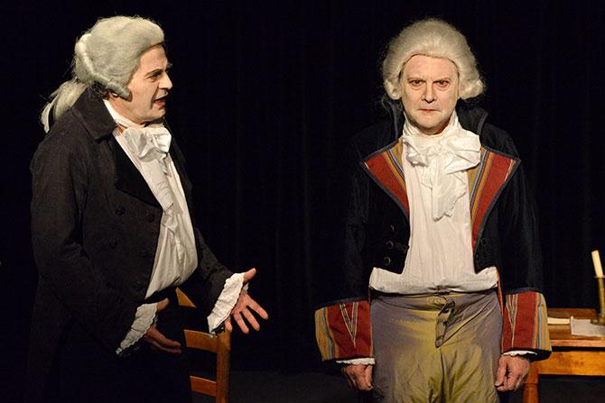 La rencontre Marat Danton Robespierre - Critique sortie Avignon / 2017 Avignon Avignon Off. L'Alibi Théâtre