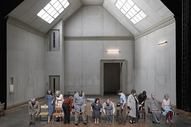 Bekannte Gefühle, gemischte Gesichter (Sentiments connus, visages mêlés) - Critique sortie Théâtre Montpellier Printemps des Comédiens