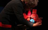 Crédit : Edouard Moniot Beaumont Légende : Le petit quelque chose de bizarre : un bouton rouge.