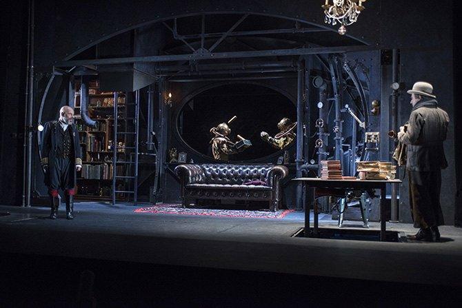 20 000 lieues sous les mers - Critique sortie Théâtre Marseille La Criée - Théâtre National de Marseille