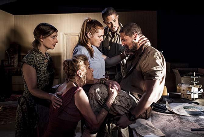 Frères Ennemis (La Thébaïde) - Critique sortie Théâtre  TKM - Théâtre Kléber-Méleau