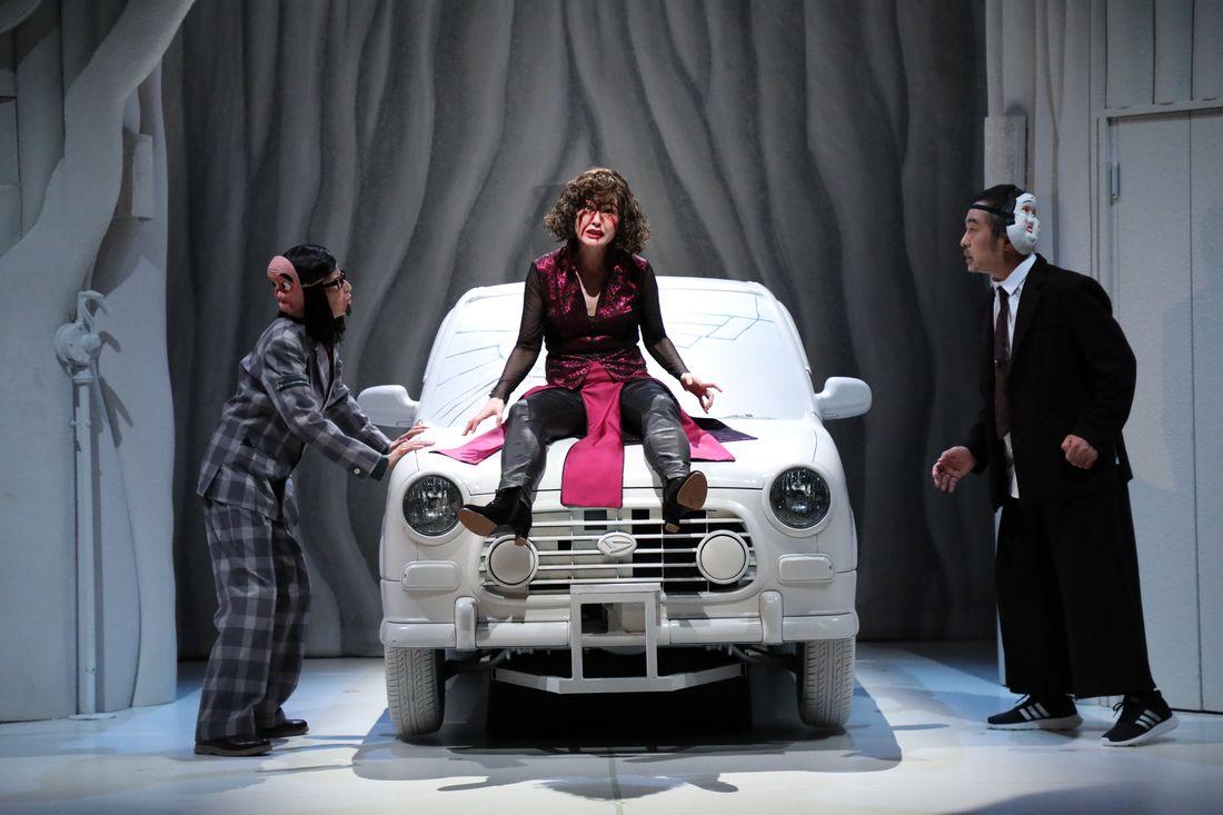 Go-on ou le son de la déraison - Critique sortie Théâtre Paris Maison de la culture du Japon à Paris