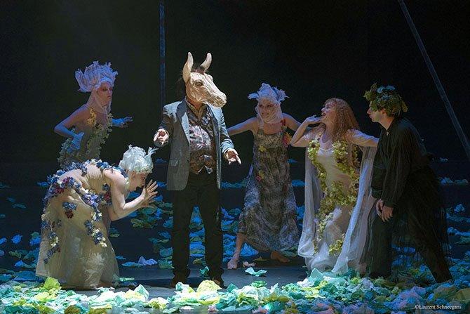 Le Songe d'une nuit été - Critique sortie Théâtre Nice Théâtre National de Nice