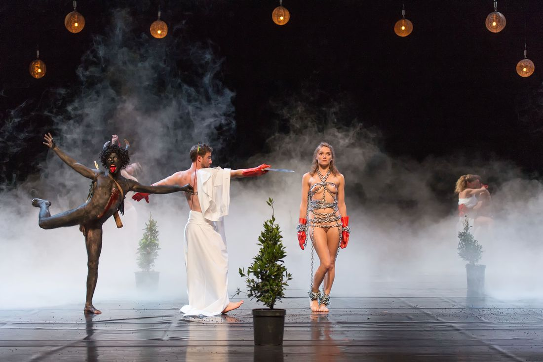 Mount Olympus To glorify the cult of tragedy, a 24h performance - Critique sortie Danse Paris La Villette
