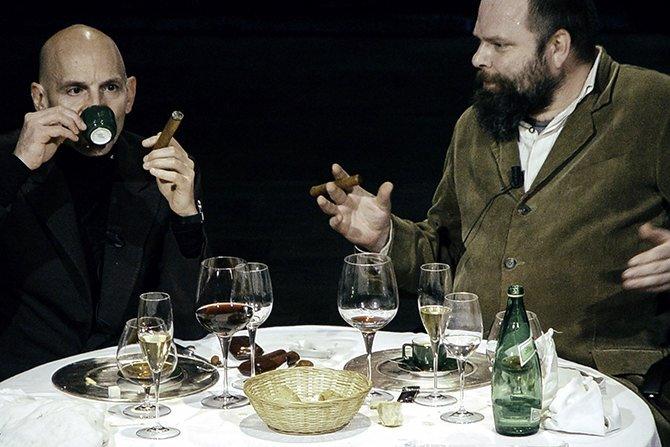 My dinner with André - Critique sortie Théâtre Bordeaux TnBA – Théâtre du Port de la Lune