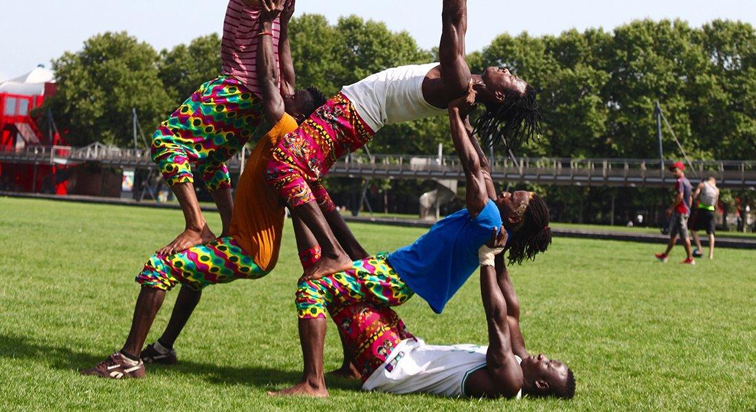 Afro Cirkus, itinéraire d'un continent - Critique sortie Cirque Paris Cabaret Sauvage