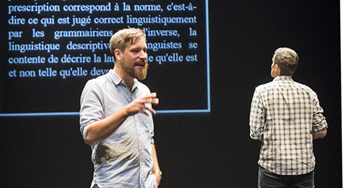 La Convivialité - Critique sortie Théâtre 75015 Paris. Le Monfort Théâtre