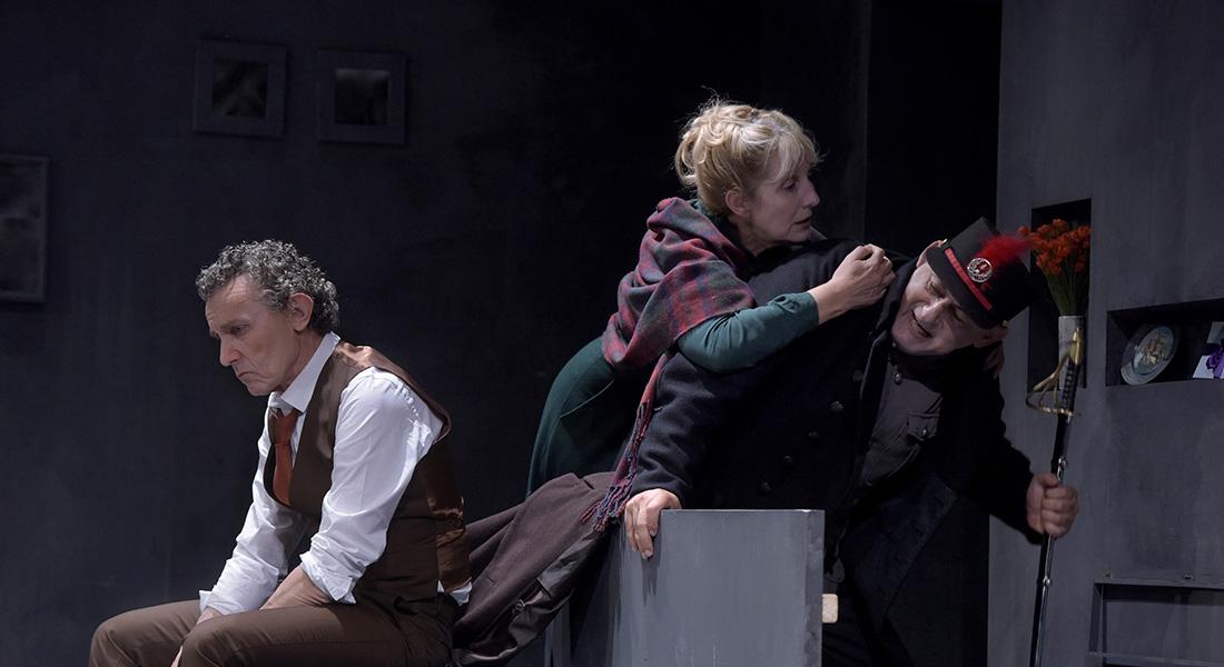 La Danse de mort - Critique sortie Théâtre Paris Théâtre de la Reine Blanche