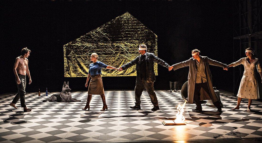 Le corps du poète - Critique sortie Théâtre Lyon _Théâtre des Célestins
