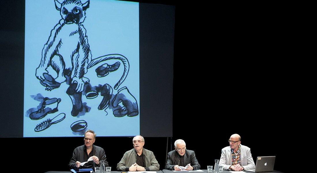 Les Cinq Coups de l'Oulipo - Critique sortie Théâtre Paris Théâtre du Rond-Point