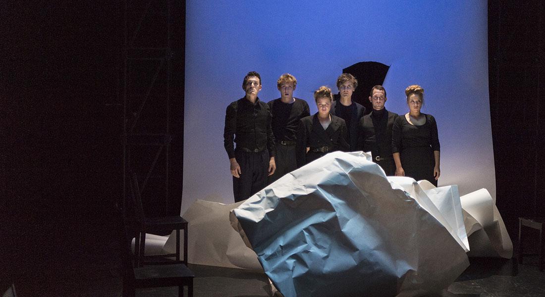 Sur la tête - Critique sortie Théâtre Saint-Céré Théâtre de l'Usine