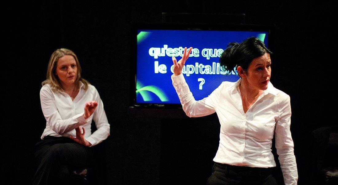 Bienvenue dans l'Espèce Humaine - Critique sortie Théâtre DIJON Théâtre Dijon Bourgogne - Centre Dramatique National