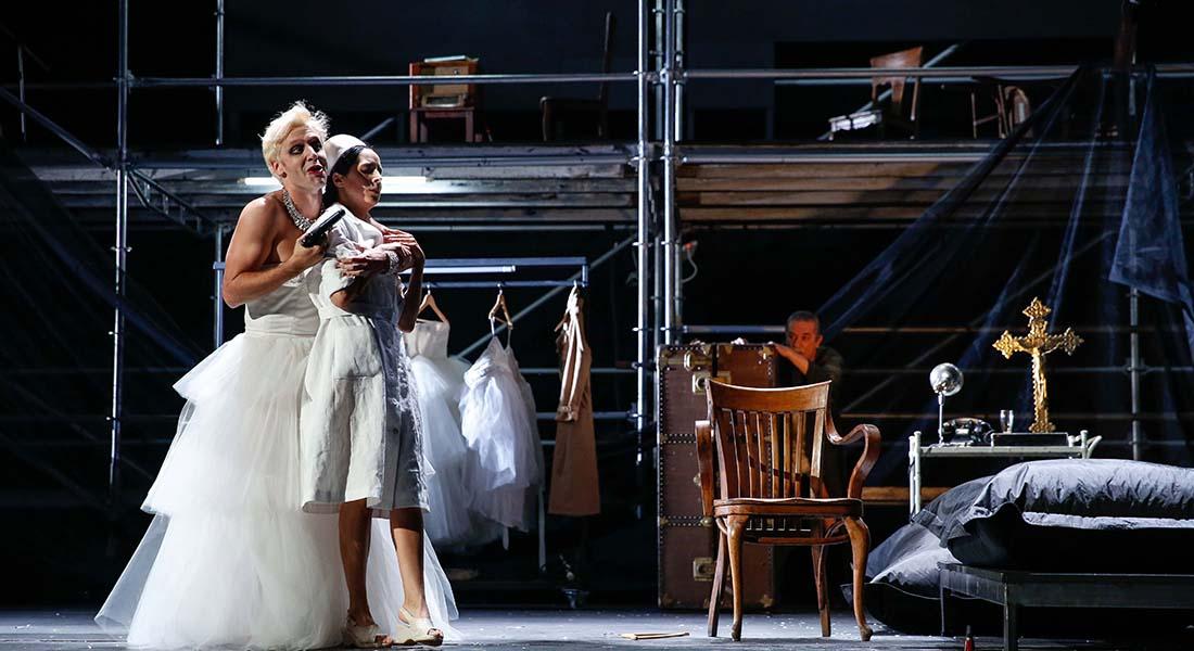 L'Homosexuel ou la difficulté de s'exprimer / Eva Perón - Critique sortie Théâtre Nancy Théâtre de la Manufacture – Centre dramatique national de Nancy – Lorraine