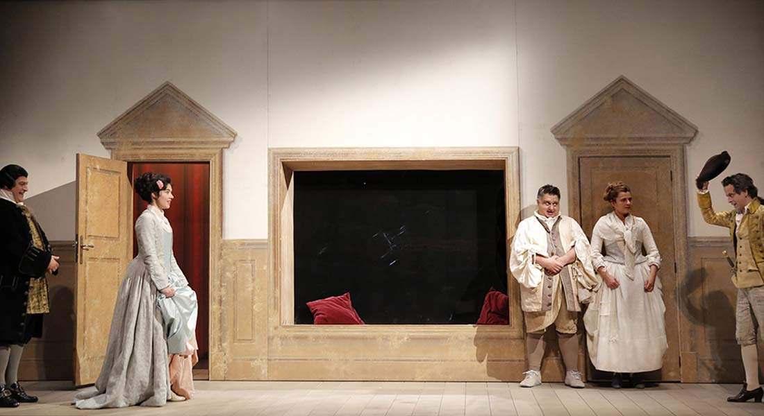 Les Jumeaux vénitiens - Critique sortie Théâtre Paris Théâtre Hébertot