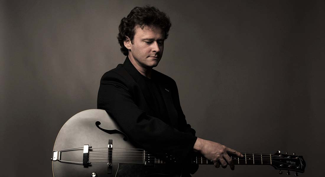 Sylvain Luc - Critique sortie Jazz / Musiques Paris PAN PIPER