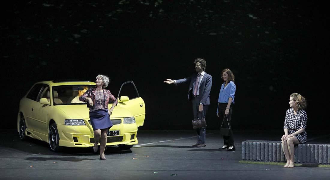 Bella Figura - Critique sortie Théâtre Paris Théâtre du Rond-Point