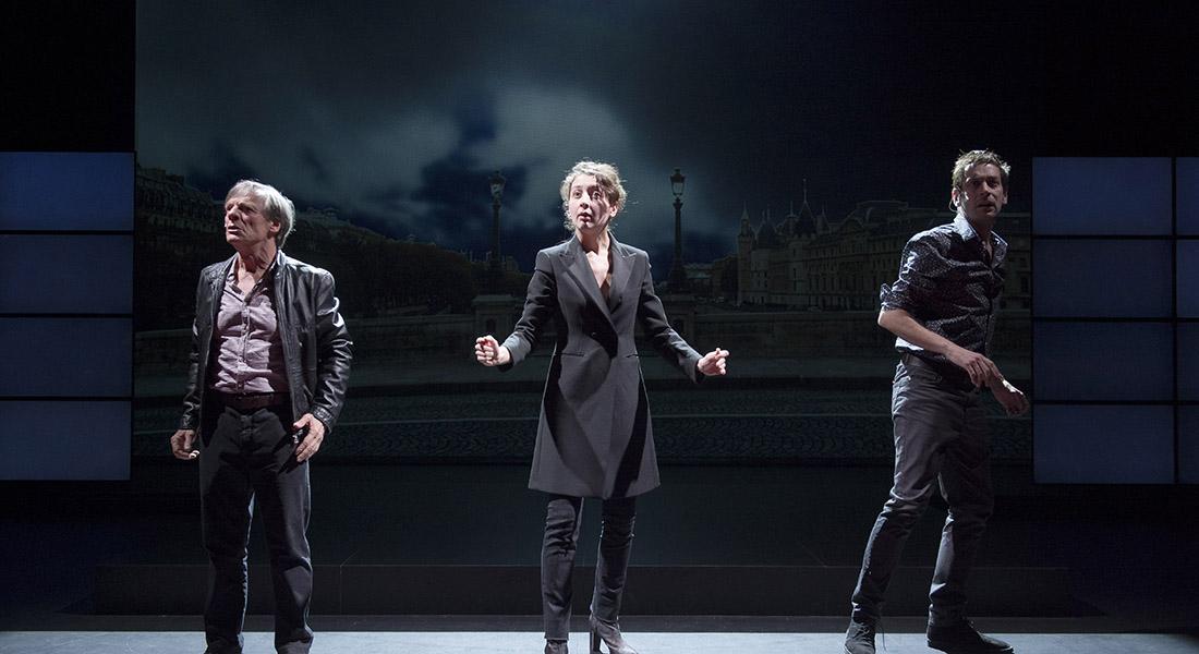La 7eme fonction du langage - Critique sortie Théâtre Sartrouville Théâtre de Sartrouville