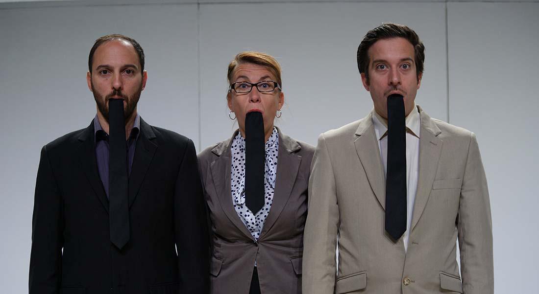 Le Langage des cravates - Critique sortie Théâtre Paris Théâtre de Belleville