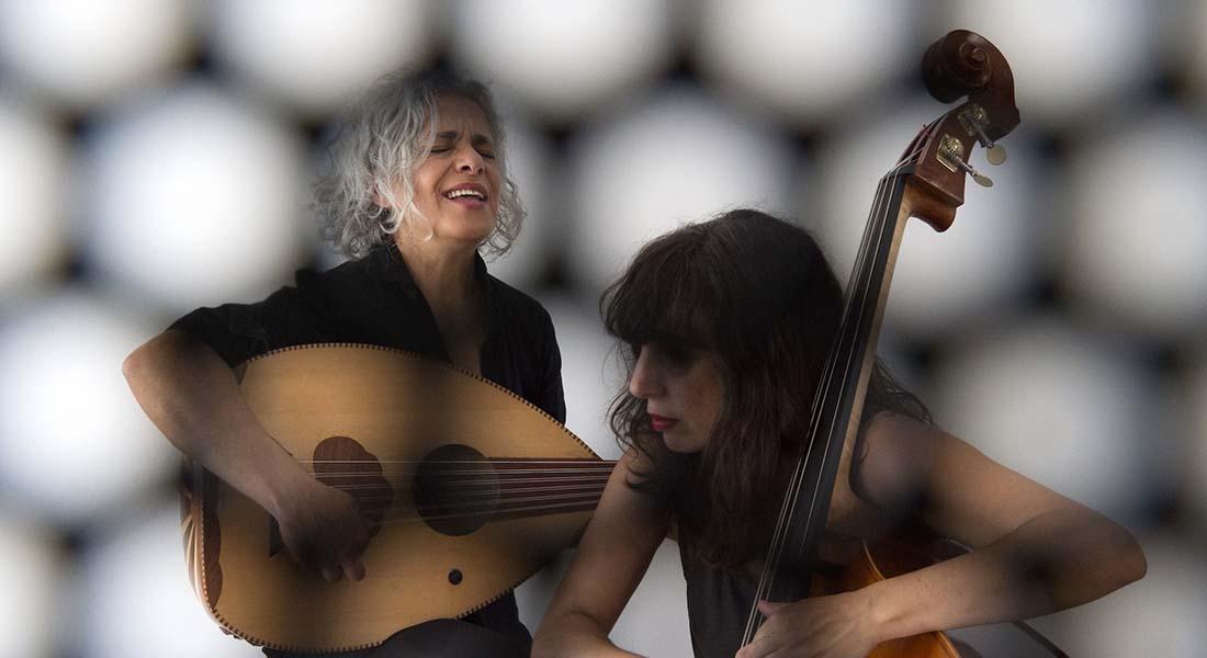 Kamilya Jubran  et Sarah Murcia - Critique sortie Jazz / Musiques Pantin La Dynamo de Banlieues bleues