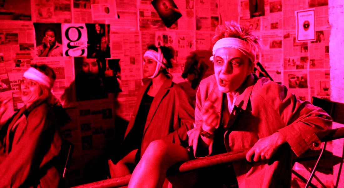 Dementia Praecox 2.0 - Critique sortie Théâtre Paris Théâtre Elizabeth Czerczuk