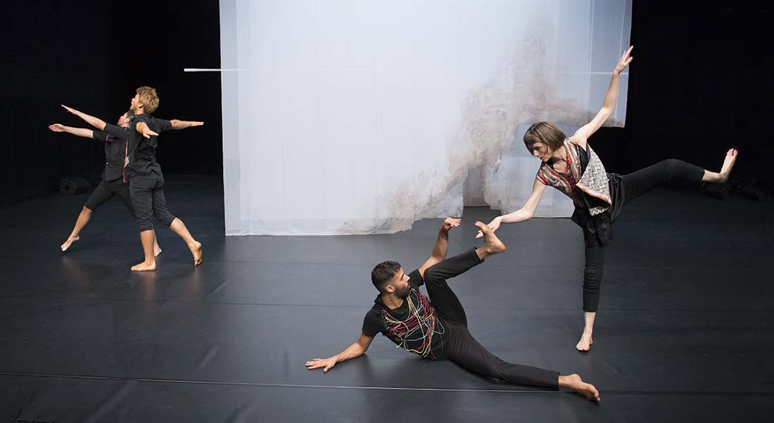 Flood - Critique sortie Danse Paris Centre Georges Pompidou avec le Théâtre de la Ville