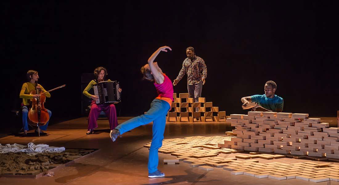 Two, Seul - Critique sortie Danse Paris Chaillot - Théâtre national de la danse