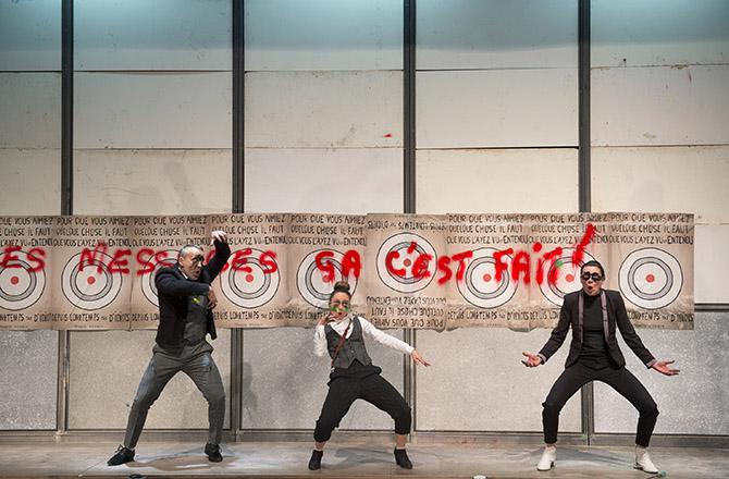 Ça Dada - Critique sortie Théâtre Montreuil Nouveau Théâtre de Montreuil