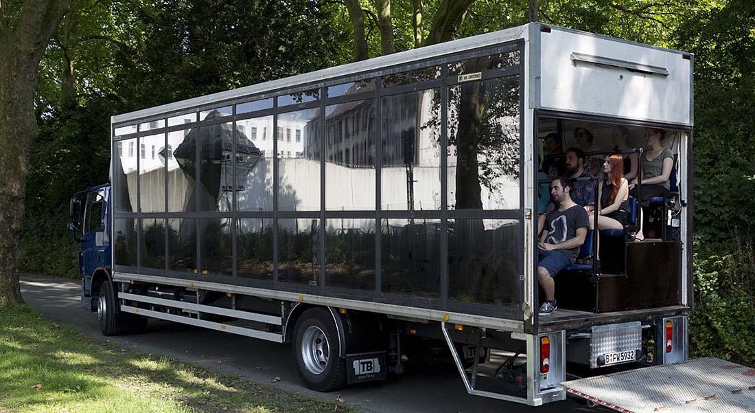 Cargo Congo-Lausanne - Critique sortie Théâtre  Camion cargo