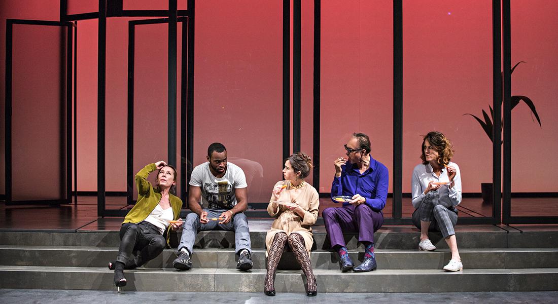 Dîner en ville - Critique sortie Théâtre Paris La Colline - Théâtre national