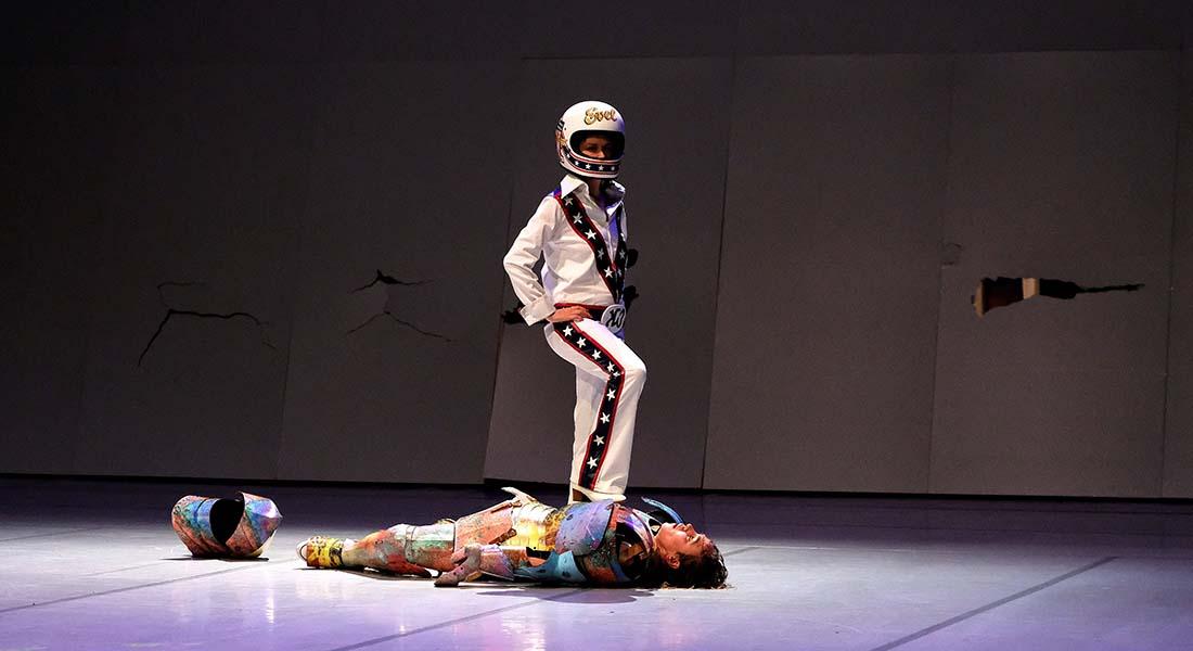 Evel Knievel contre Macbeth na terra do finado Humberto - Critique sortie Théâtre Lausanne Théâtre de Vidy