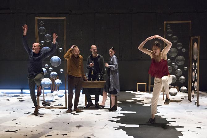 Bovary - Critique sortie Théâtre Paris Théâtre de la Bastille