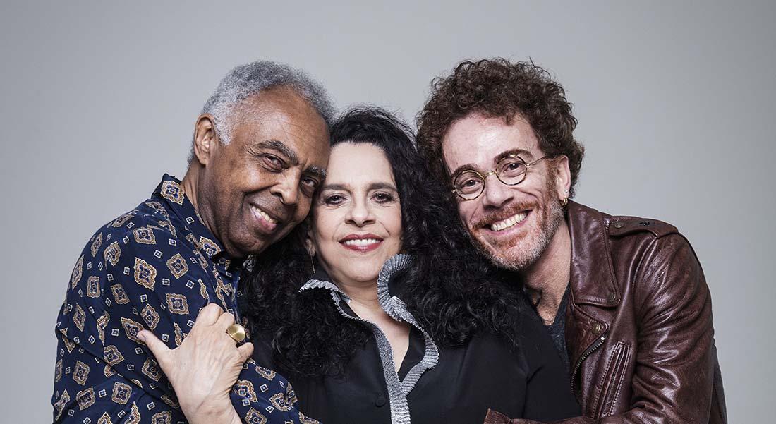 Gilberto Gil, Nando Reis & Gal Costa - Critique sortie Jazz / Musiques Boulogne-Billancourt La Seine Musicale