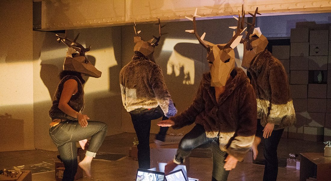 Revoir Lascaux - Critique sortie Danse Paris Espace Pierre Cardin - studio