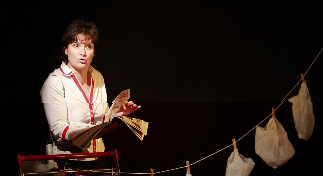 Frédérique, hôtesse de caisse - Critique sortie Avignon / 2018 Avignon Avignon off. Théâtre Transversal