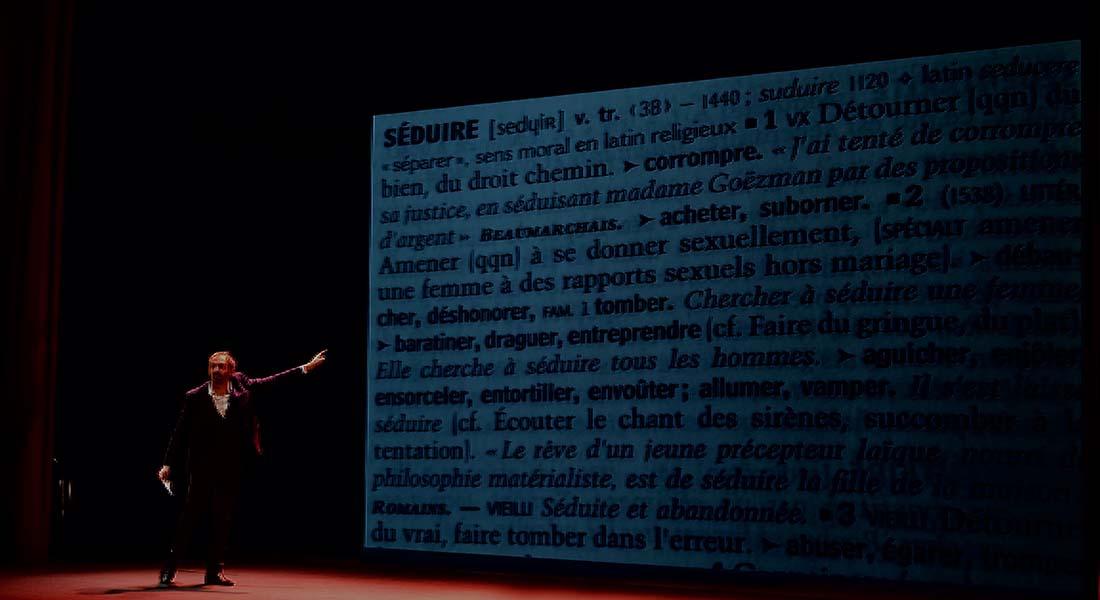 Plaire – abécédaire de la séduction - Critique sortie Avignon / 2018 Avignon Avignon Off. 11 Gilgamesh Belleville