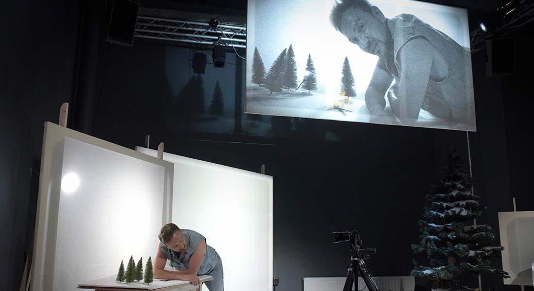 Construire un feu - Critique sortie Théâtre 75001 Paris Galerie du Carrousel